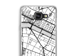 Bringen Sie einen Stadtplan auf Ihr Galaxy A5 (2016) case
