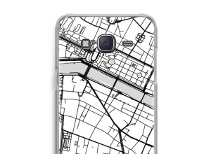 Put a city map on your Galaxy J5 (2015) case