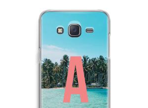 Make your own Galaxy J5 (2015) monogram case