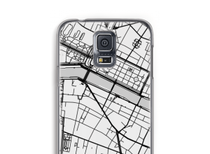 Put a city map on your Galaxy S5 case
