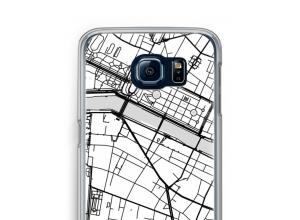 Bringen Sie einen Stadtplan auf Ihr Galaxy S6 case