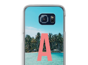 Make your own Galaxy S6 Edge monogram case