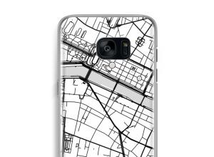 Bringen Sie einen Stadtplan auf Ihr Galaxy S7 Edge case