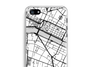 Put a city map on your iPhone 5 / 5S / SE case