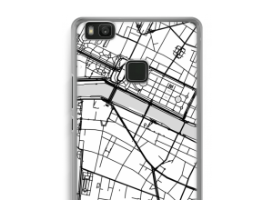 Put a city map on your Ascend P9 Lite case