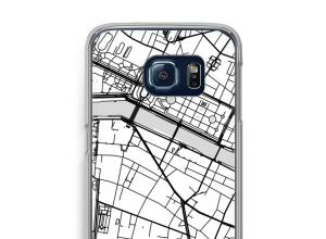 Bringen Sie einen Stadtplan auf Ihr Galaxy S6 Edge case