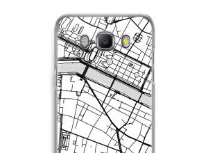 Bringen Sie einen Stadtplan auf Ihr Galaxy J5 (2016) case