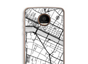 Put a city map on your Moto Z Force case