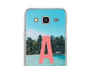 Make your own Galaxy J7 (2015) monogram case