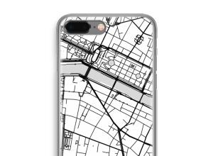 Bringen Sie einen Stadtplan auf Ihr iPhone 8 Plus case