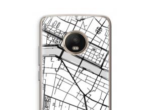 Put a city map on your Moto G5 Plus case