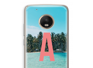 Make your own Moto G5 Plus monogram case
