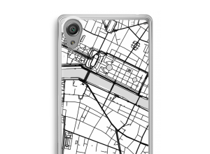 Put a city map on your Xperia XA1 case