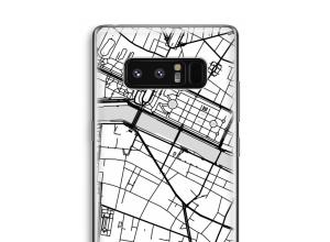Bringen Sie einen Stadtplan auf Ihr Galaxy Note 8 case