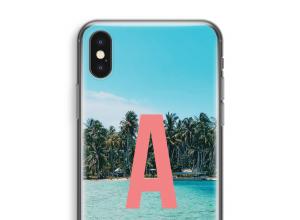 Machen Sie Ihr eigenes iPhone X monogram case