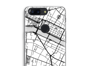 Put a city map on your OnePlus 5T case