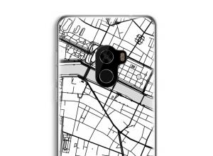 Bringen Sie einen Stadtplan auf Ihr Mi Mix 2 case