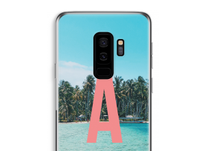 Make your own Galaxy S9 Plus monogram case