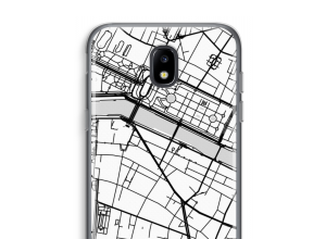 Put a city map on your Galaxy J5 (2017) case