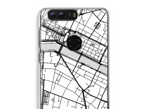Put a city map on your Honor 8 case