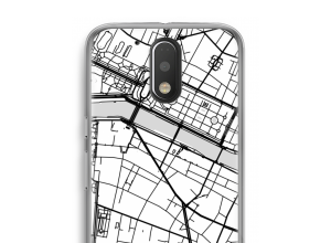 Put a city map on your Moto G4 / G4 Plus case