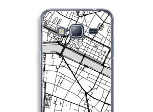 Bringen Sie einen Stadtplan auf Ihr Galaxy J3 (2016) case