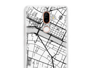 Put a city map on your Nokia 7 Plus case