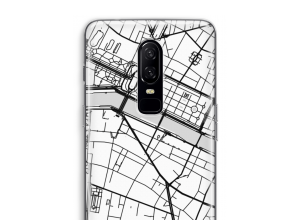 Put a city map on your OnePlus 6 case