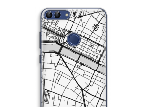 Put a city map on your P Smart (2018) case