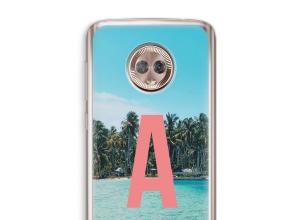 Make your own Moto G6 monogram case