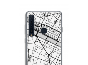 Put a city map on your Galaxy A9 (2018) case