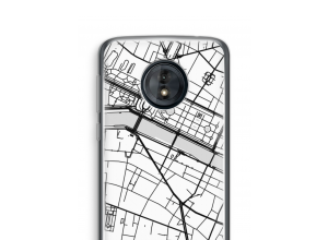 Put a city map on your Moto G6 Play case