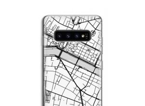 Bringen Sie einen Stadtplan auf Ihr Galaxy S10 case