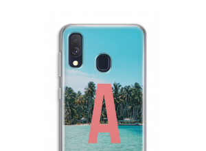 Make your own Galaxy A40 monogram case