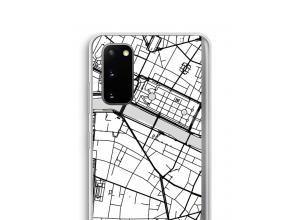 Bringen Sie einen Stadtplan auf Ihr Galaxy S20 case