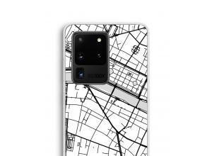 Bringen Sie einen Stadtplan auf Ihr Galaxy S20 Ultra case