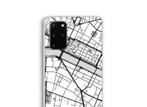 Bringen Sie einen Stadtplan auf Ihr Galaxy S20 Plus case