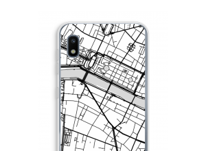 Put a city map on your Galaxy A10 case