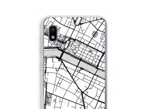 Bringen Sie einen Stadtplan auf Ihr Galaxy A10 case