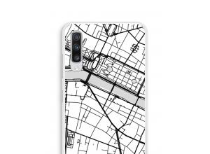 Bringen Sie einen Stadtplan auf Ihr Galaxy A70 case