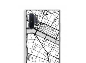Bringen Sie einen Stadtplan auf Ihr Galaxy Note 10 Plus case