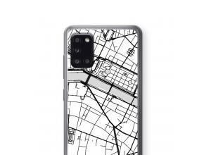 Bringen Sie einen Stadtplan auf Ihr Galaxy A31 case