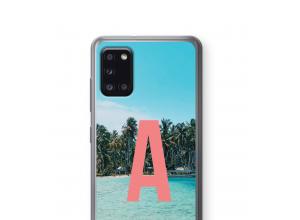 Machen Sie Ihr eigenes Galaxy A31 monogram case