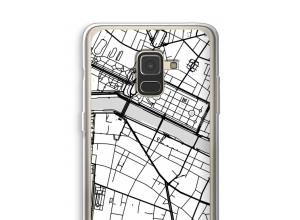Bringen Sie einen Stadtplan auf Ihr Galaxy A8 (2018) case