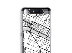 Bringen Sie einen Stadtplan auf Ihr Galaxy A80 case