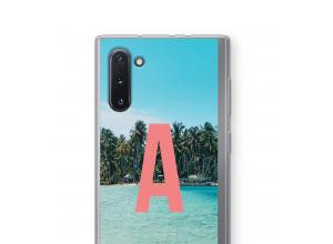 Machen Sie Ihr eigenes Galaxy Note 10 monogram case