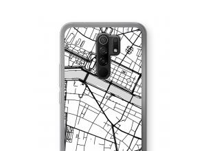 Bringen Sie einen Stadtplan auf Ihr Xiaomi Redmi 9 case