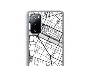 Bringen Sie einen Stadtplan auf Ihr Galaxy S20 FE / S20 FE 5G case