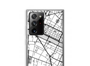 Bringen Sie einen Stadtplan auf Ihr Galaxy Note 20 Ultra / Note 20 Ultra 5G case