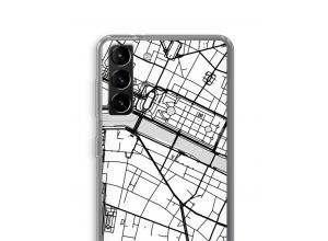 Bringen Sie einen Stadtplan auf Ihr Galaxy S21 Plus case